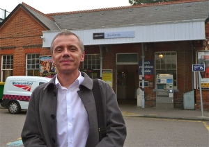 Gareth at Shortlands station