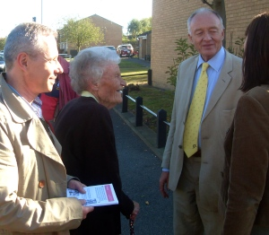 Ken and Gareth meet Shortlands residents